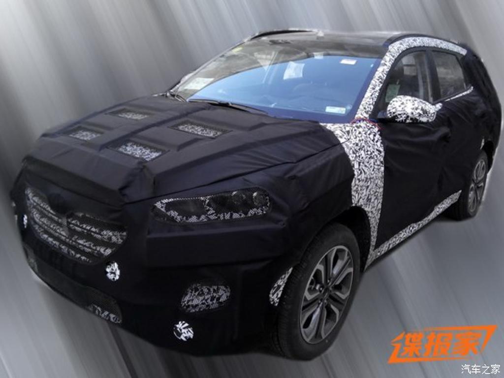 0月上市 北京现代将推全新SUV车型高清图片